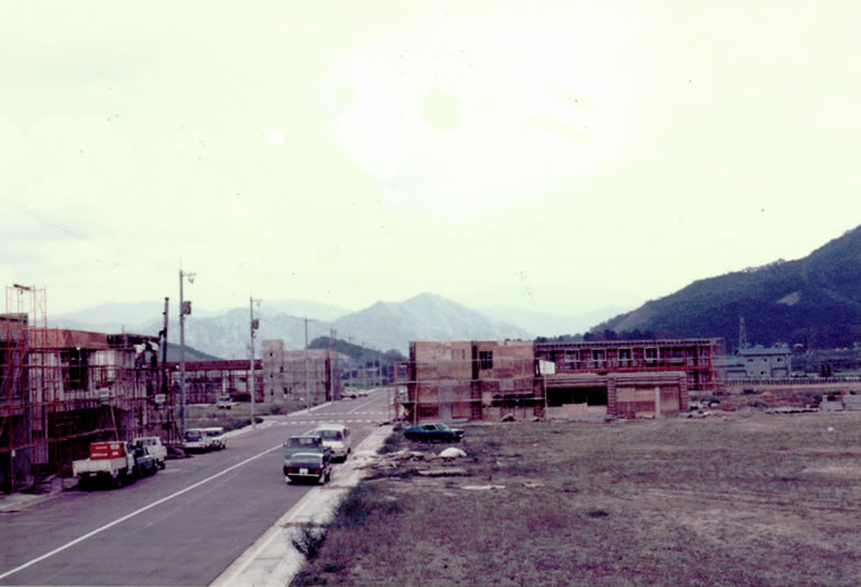 社屋建設時(昭和51年)